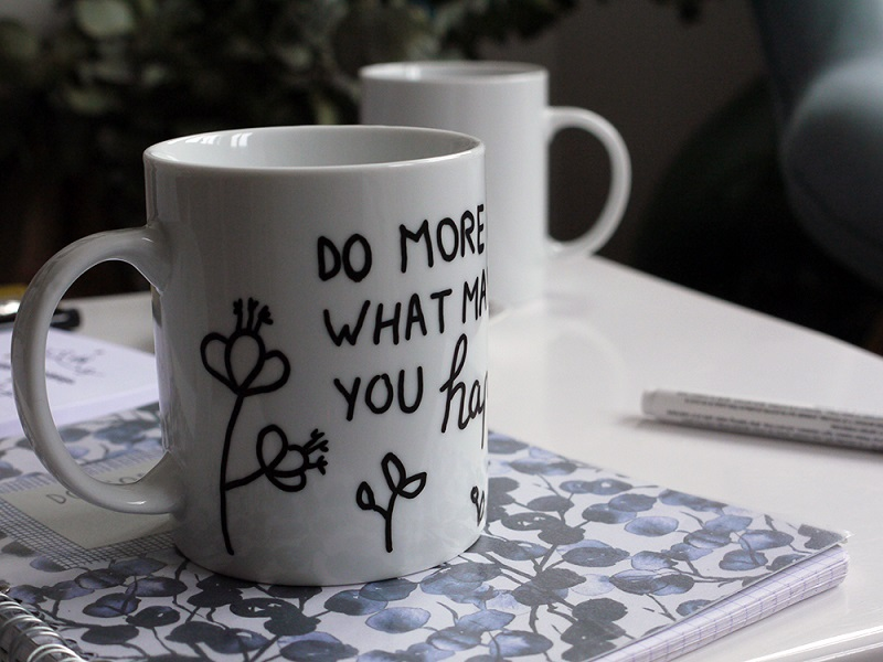 Comment faire un mug personnalisé