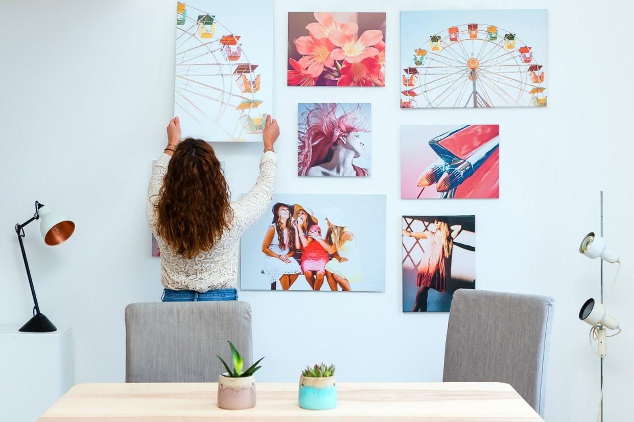 Photos sur toile murales