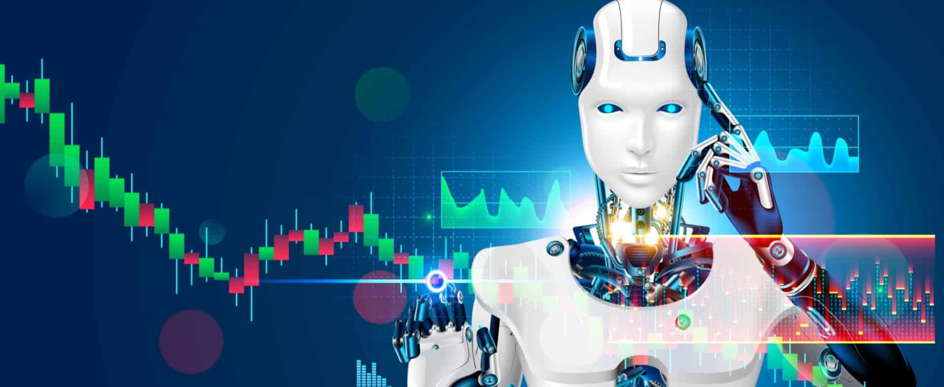 Un robot fait du trading