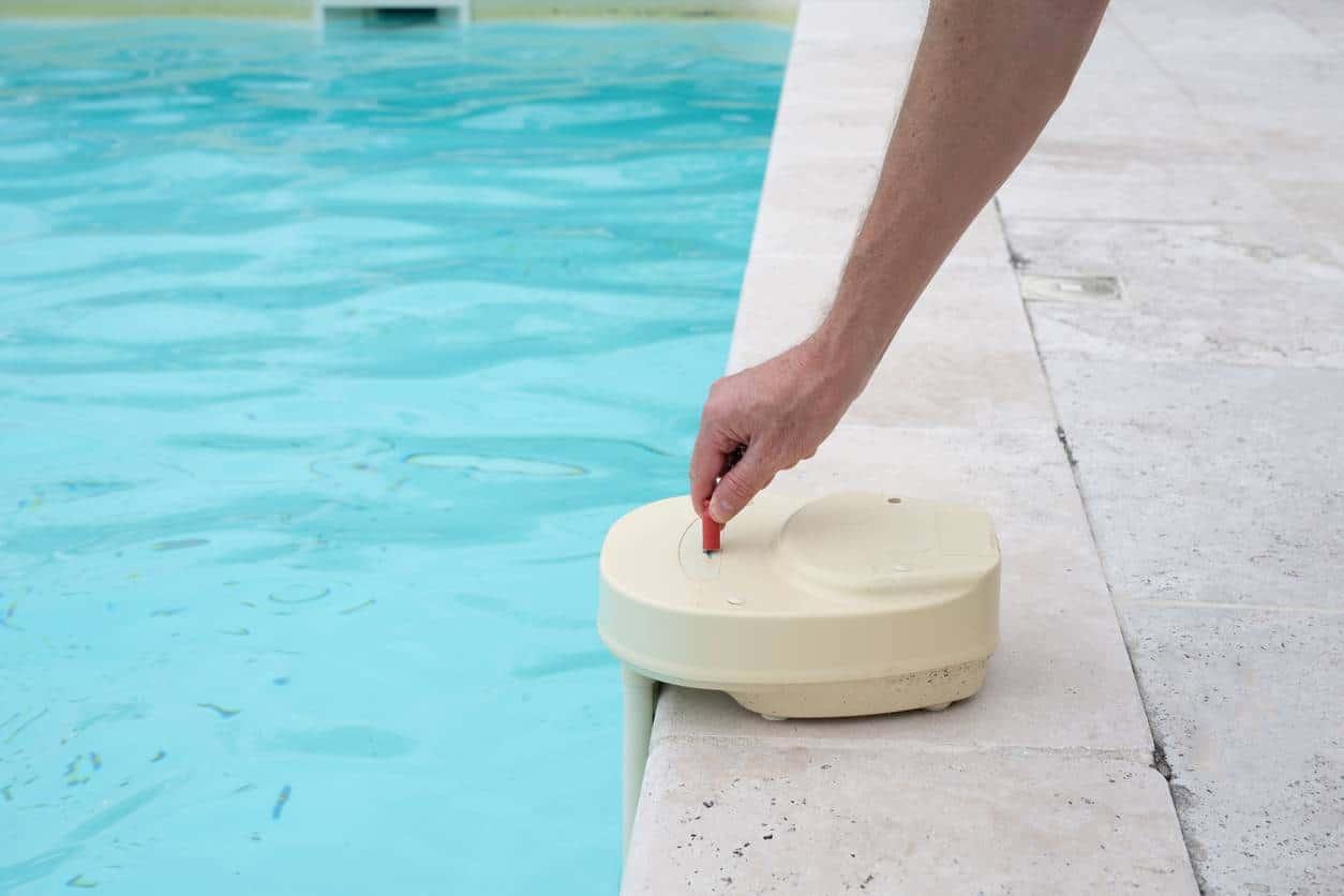 Un détecteur pour piscine