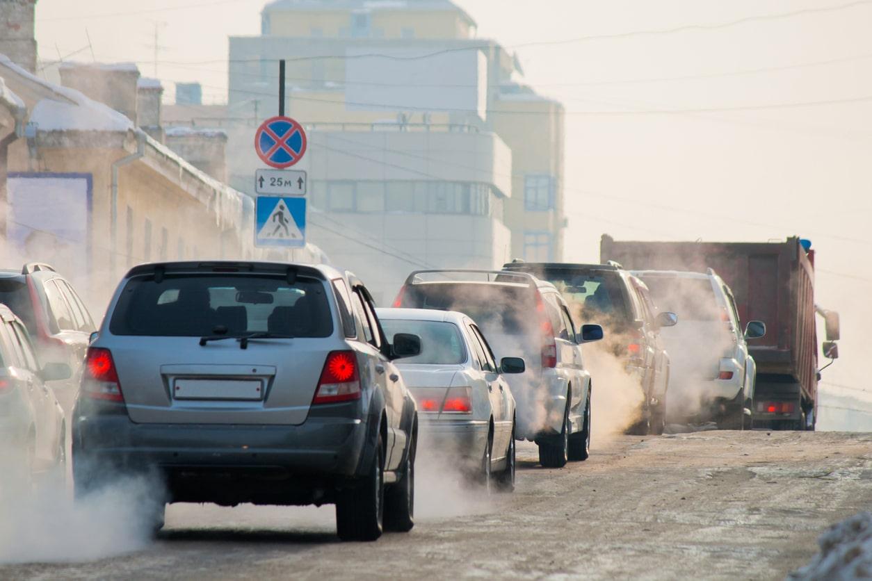 Pollutions de voitures